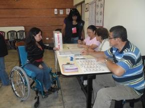 Recomendaciones para garantizar el sufragio de las personas condiscapacidad